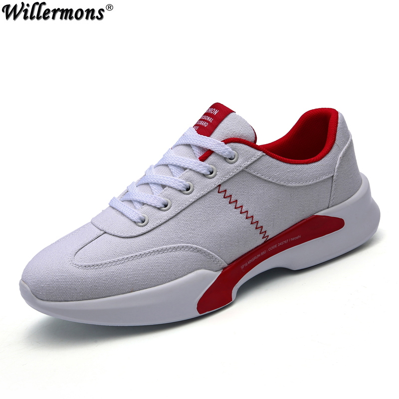 2017 Summer New Fashion Men's Breathable Canvas Casual Shoes Men Quality Light Walking Shoes
