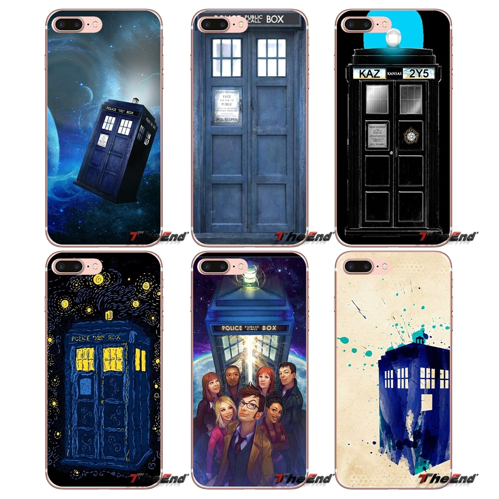 Half-wrapped Case Tpu Case For Xiaomi Mi6 Mi 6 A1 Max Mix 2 5x 6x Redmi Note 5 5a 4x 4a A4 4 3 Plus Pro Tardis Bad Wolf Doctor Who Telephone Booth