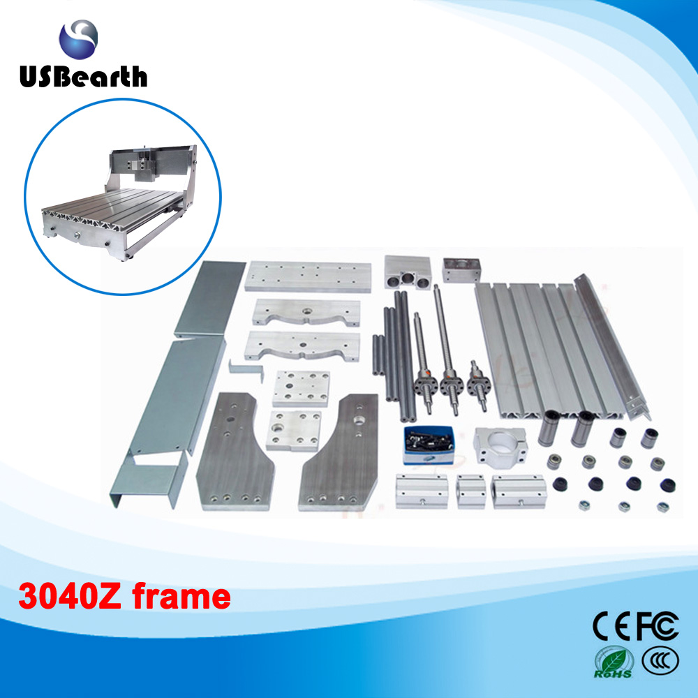 LY 3040Z Frame Parts for Ball Screw CNC Router Machine Engraving Machine EU free tax high quality 3040 cnc router engraver engraving machine frame no tax to eu