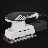 Electric sander 200W Random Orbit Sander Sheets of sandpaper Dust exhaust and Hybrid dust canister Power tools
