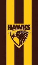 Hawthorn Hawks Vertical Flag 3x5FT AFL banner 100D 150X90CM Polyester brass grommets custom66,free shipping