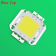 5 piezas completas 100 W LED integrado Chip fuente de luz IC 10000LM Chips de lámpara 32-35 V 30 * 30mil 3200ma Epistar SMD COB reflector bombilla(China)