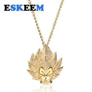 Ожерелье с кулоном Goku Anime Super Saiyan Vegeta Dragon Ball