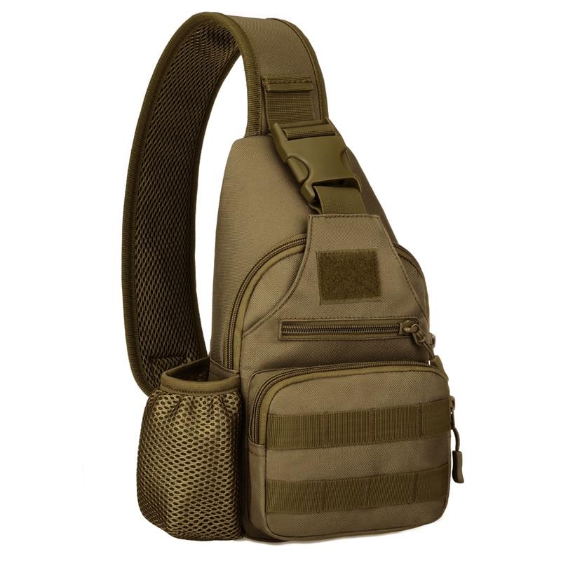 Unisex Nylon Crossbody Bags Military Travel Riding Cross Body Shoulder Backpack Men Messenger Pack Chest Bag Outdoor Bags 2018 Camping & Hiking