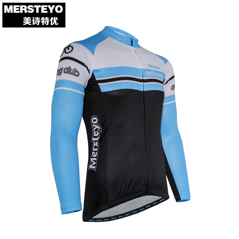 Sports & Entertainment Cycling Clothings Alert Mersteyo Pro Men Bike Jersey Long Sleeve Team Cycling Clothing Black Male Riding Top Mtb Wear Ropa Ciclismo Shirts Winter