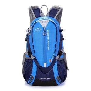 Image 2 - Водонепроницаемый нейлоновый рюкзак для верховой езды для мужчин и женщин, Спортивная уличная сумка для горных и дорожных велосипедов, ранец 25 л