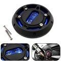 Azul-tampa de proteção do motor para yamaha tmax 530 500 t-max 530 frete grátis