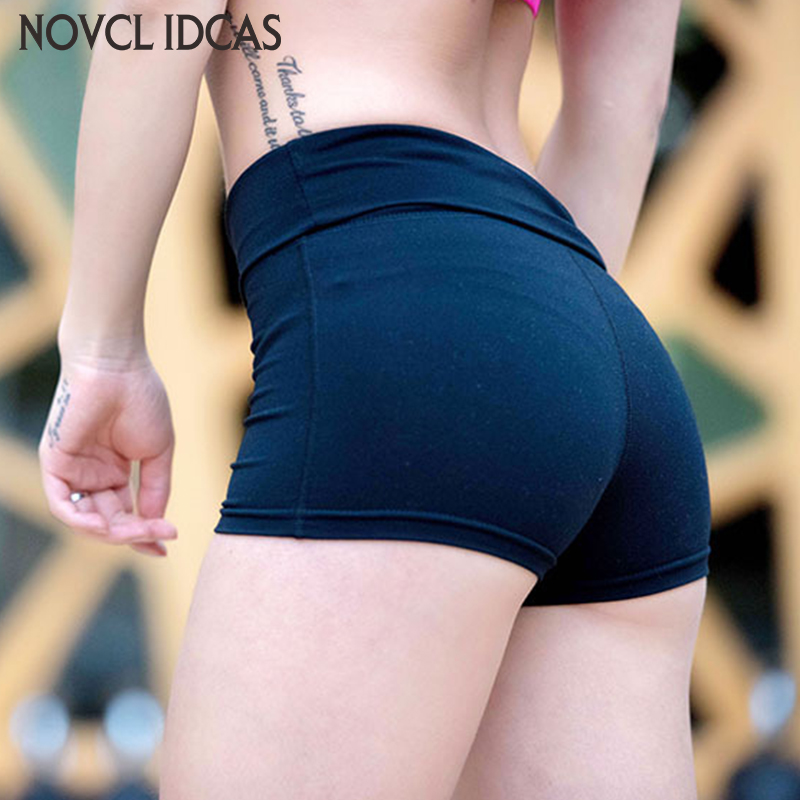 Women Girls Sports Yoga Gym Running Shorts Summer Beach Workout Hot Quick-drying Fitness Running Elastic tight shorts women girls summer sports shorts fitness gym yoga skinny running workout shorts s xl