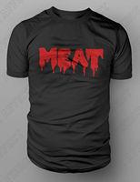 MEAT T Shirt Vegetarian Vegan Activism Blood Animal Rights Murder Tshirt S XXL Summer Men'S fashion Tee,Comfortable t shirt