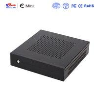 Steel HTPC Case Mini ITX Case Desktop Computer Gaming PC Desktop Case With 12V 5A Adapter