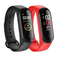 Смарт M4 напульсники для мужчин и женщин водонепроницаемый спортивный браслет телефон Bluetooth монитор сердечного ритма фитнес-браслет для Android IOS