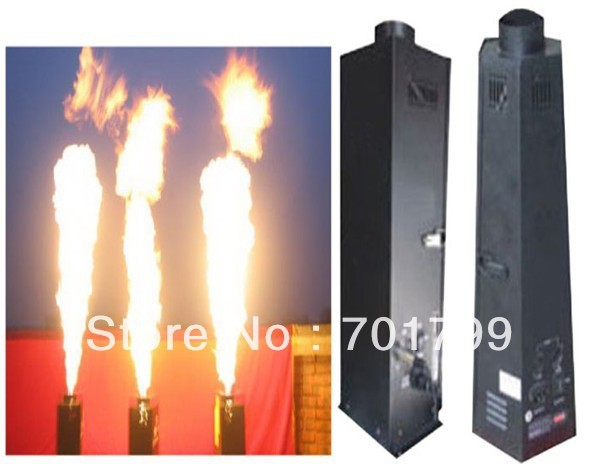 DMX512 Controlled Colorful Flame projector,fire Machine,AC110V/220-250V,50/60hz