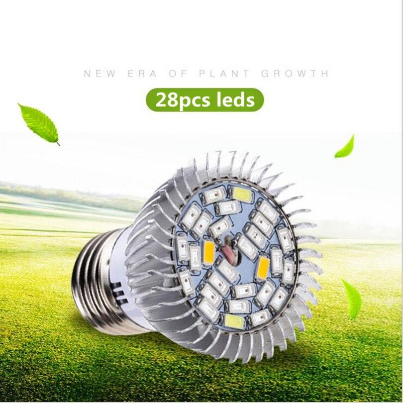 10W LED Grow Light High Efficiency 85V-265V Lamp E14 E27 GU10 Bulbs LED Indoor Vegetables Red Blue led Plant Glow Lights