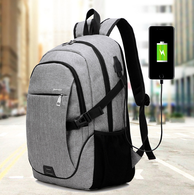 5ff1f00a7902 US $26.51 5% OFF|15 15.6 15.4 Inch with USB Interface Laptop Notebook PC  Backpack Bags Case for School macbook 17 Men Women Student Travel-in Laptop  ...