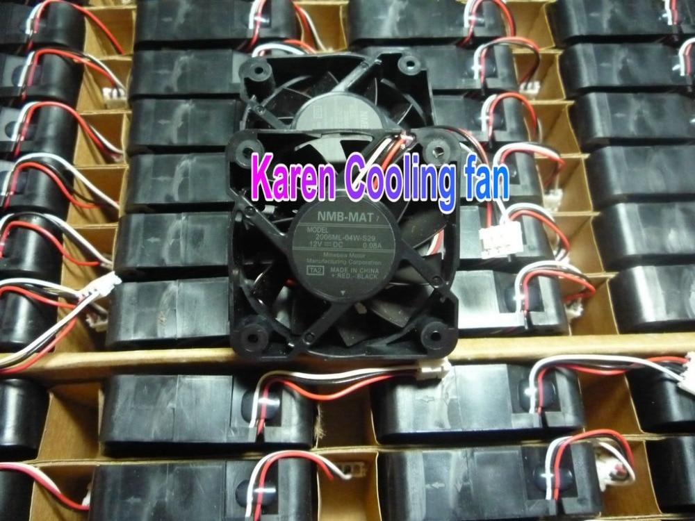 חדש מקורי NMB 5cm 2006ML-04W-S29 TA2 5015 12v 0.08a 3wire - רכיבי מחשב