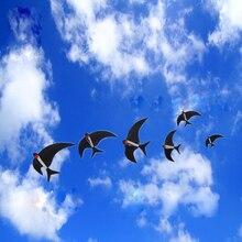 Лоцманской проводки Fun Factory летящая птица воздушных змеев один линии воздушных змеев weifang кайт Ласточка Ветроуказатель бар на пляже LED Kite Kids windsocks Craft