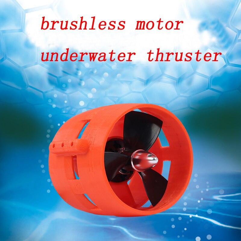 1pcs 3 phase Brushless Motor Underwater Thruster DC 24V 600W 900KV Motor Propeller for RC Boats Model Submarine DIY Robot