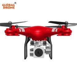 Global GW-X2 Zangão RC Dron com 5MP Grande-Angular 1080P Câmera HD 2.4G 4CH Pairar Controle Remoto FPV Quadrocopter VS SH5