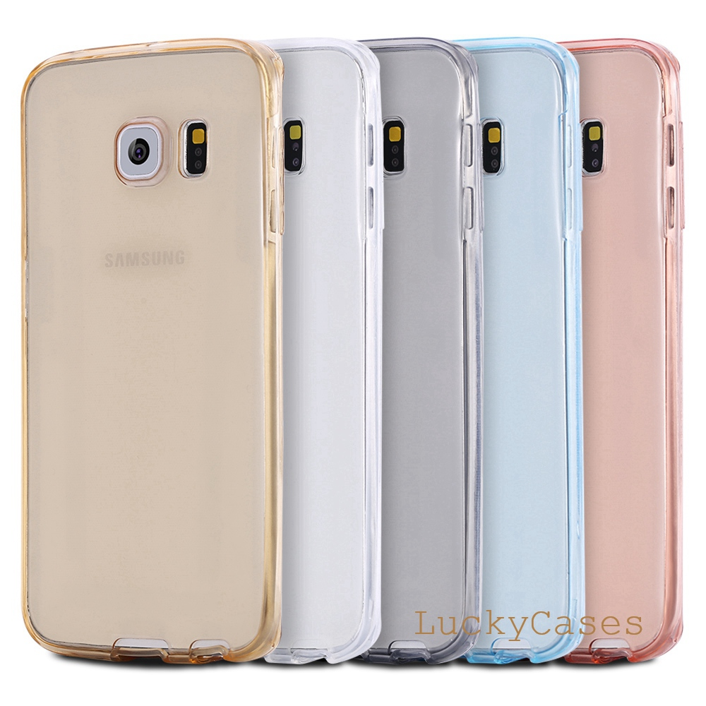 For Samsung Galaxy S4 Case Soft Tpu Full Body Protective Crystal Tempered Glass Premium Note 8 Friendly Good Touchscreen Clear Bening Touch Fundas