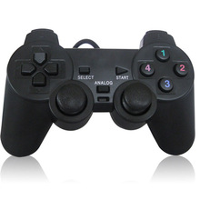 USB Wired PC Game Controller Gamepad Shock Vibration Joystic