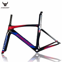 Carbon Road Bike Frame 2017 Di2 And Mechanical Super Light Carbon Road Frame Fork Seatpost Clamp