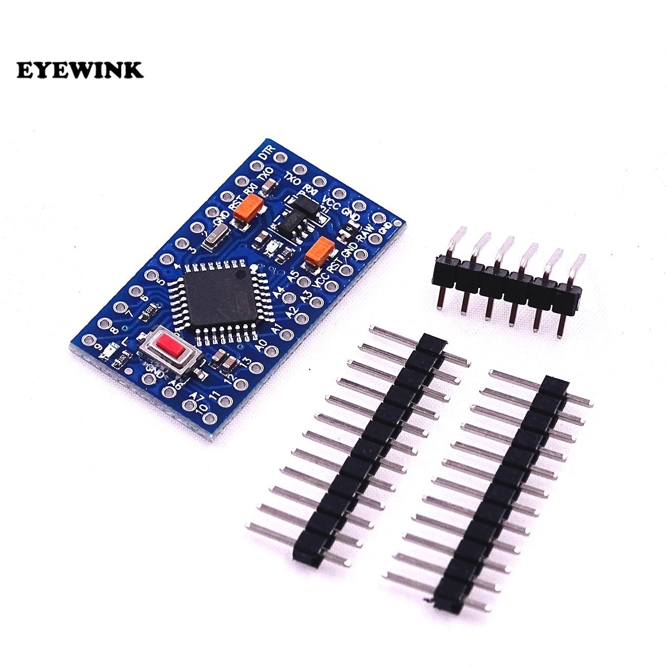 10pcs/lot ATMEGA328P Pro Mini 328 Mini ATMEGA328 5V 16MHz For Arduino 5V 16M