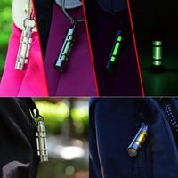 Mini Tritium Gas Funny Toys Night Automatic Glowing Luminous Tub Self Light For 25 Years Novelty Gift Key Ring