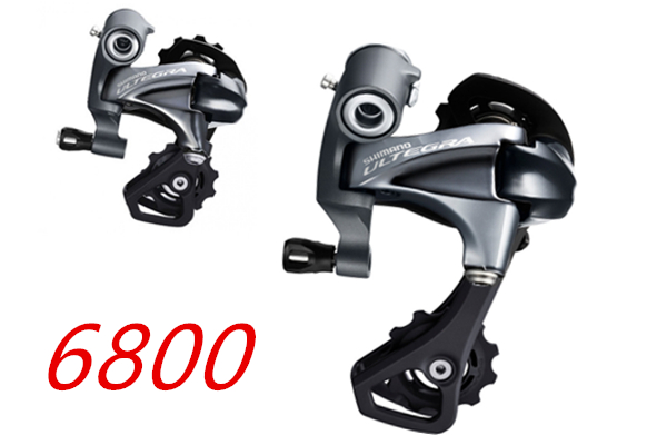 SHIMANO ULTEGRA RD-6800-SS GS 11S Speed Rear Derailleur Road Bike Bicycle Part cycling bike road groupset accessorias free ship west biking bike chain wheel 39 53t bicycle crank 170 175mm fit speed 9 mtb road bike cycling bicycle crank