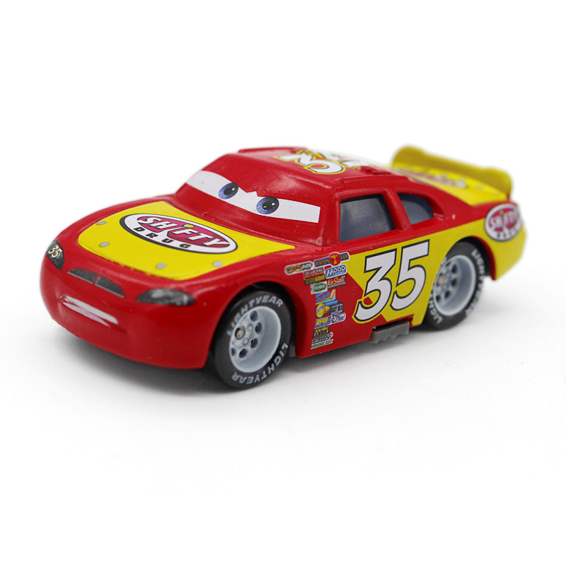 No.35 Pixar Cars Shifty Drug Metal Diecast Toy Car 1:55 Loose Brand New McQueen Racing car Model Cartoon Toy For Kid