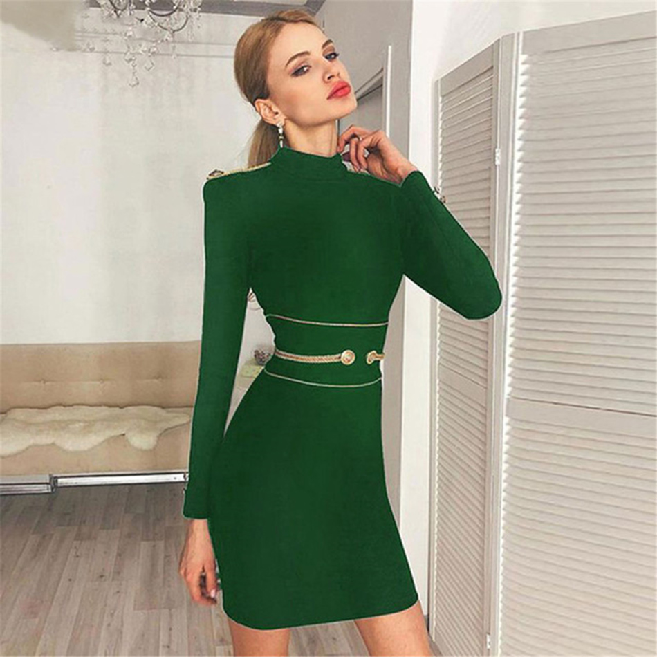 Autumn-Women-Bandage-Dress-Above-Knee-O-Neck-Bodycon-Evening-Party-Dresses-Club-Wear-Vestidos-2019