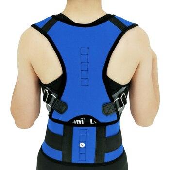 Women Men Corrector Postura Back-Support Bandage Shoulder Corset Back Support Posture Correction Belt