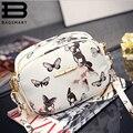 BAGSMART Bolsas de Couro Das Mulheres Crossbody Sacos Para As Mulheres Menina Bolsas Com Flores Crossbody Sacos de Embreagem Saco de Mão Da Menina