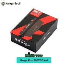 Véritable KangerTech KBOX 200 W TC Boîte Mod Temp Contrôle Mod