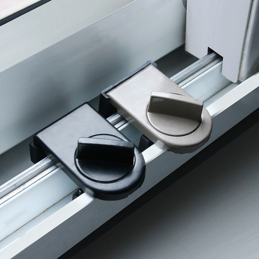 Anti-theft Child Safety Door Window Lock Security Latches Sliding Sash Stopper