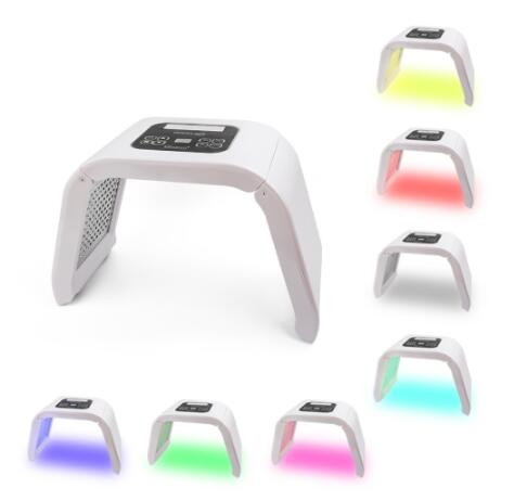 2019 7 Color LED PDT Light Skin Care Beauty Machine LED Facial Mask PDT Therapy For Skin Rejuvenation Acne Remover Anti-wrinkles