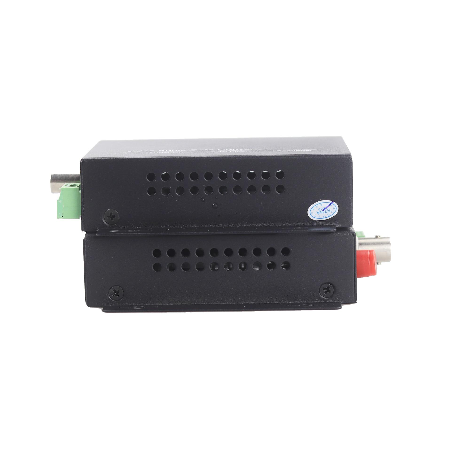 GZGMET 20Km 1 Kanal Video Extender Singlemode LWL Medienkonverter - Schutz und Sicherheit - Foto 3
