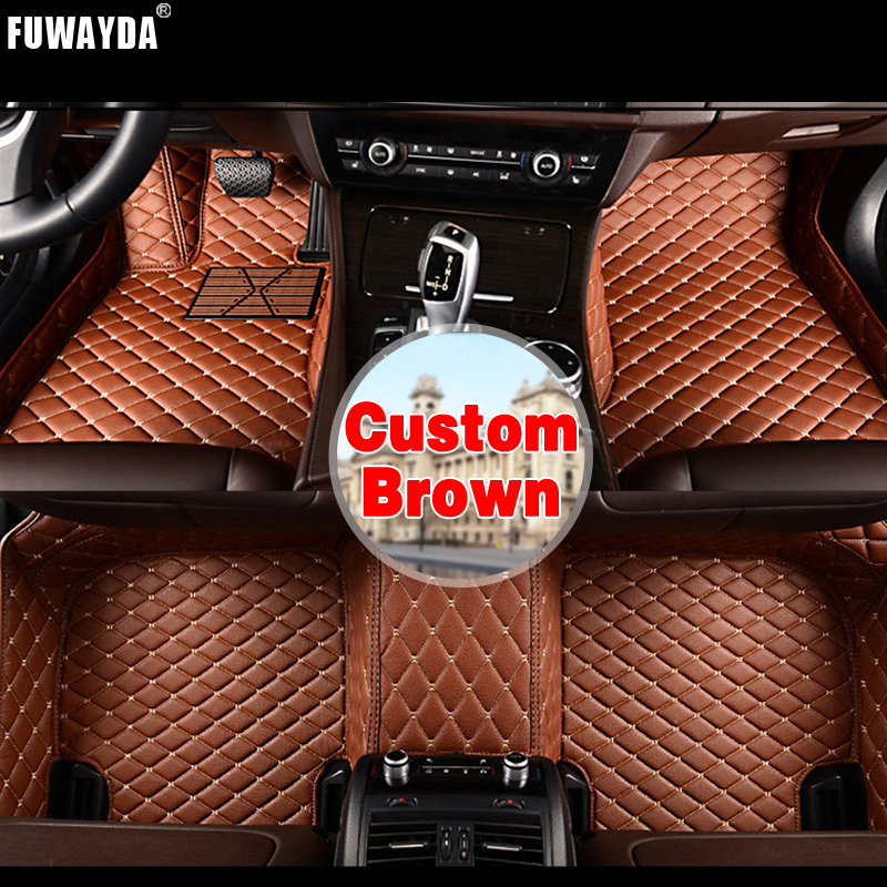 FUWAYDA Custom fit car floor mats made for Jeep all models  waterproof 3D car styling leather Car Floor Mats Covers Leather FUWAYDA Custom fit car floor mats made for Jeep all models  waterproof 3D car styling leather Car Floor Mats Covers Leather