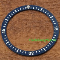 Watch Parts Debert 40 8mm Blue Ceramical Bezel Fit For 43mm Automatic Watches Timepiece Insert For