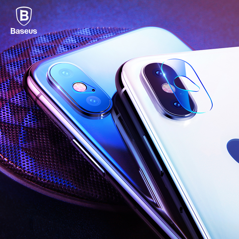 BASEUS Camera lens Screen Protector for iphone X 10 HD Clear Camera Tempered Glass For iphone X Seamless covering Anti-scratch