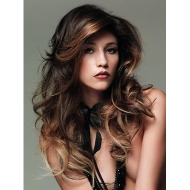 Long wavy hairstyles hot dark brown hair ideas bronze bangs 100 long wavy hairstyles hot dark brown hair ideas bronze bangs 100 hu man hair wigs pmusecretfo Image collections