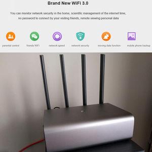 Image 5 - Original Xiaomi Mi WiFi Wireless Router HD/Pro 2533Mbps 2.4G/5GHz Dual Band Roteador WiFi Repeater HD 1TB 2TB 8TB English APP