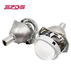 Image 1 - SZDS Car styling Auto luz da cabeça 3.0 polegada Bi xenon Lente Do Projetor HELLA H7 Sem Perdas Não destrutivo H1 H3 h4 H7 H11