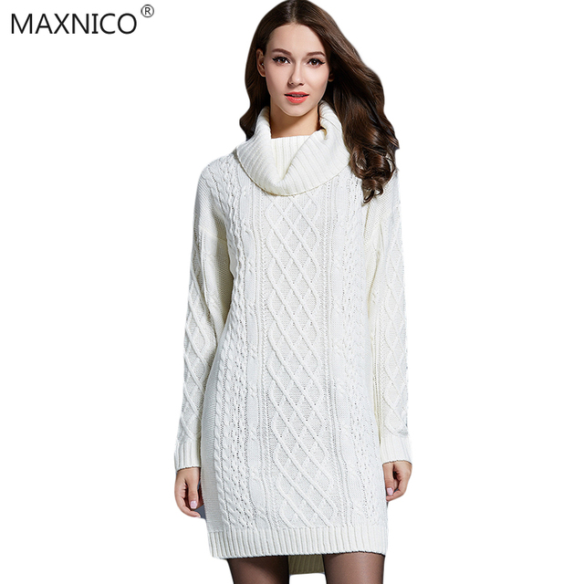 MaxNico New 2017 Fahsion Winter Women Sweater Long Cardigans ...