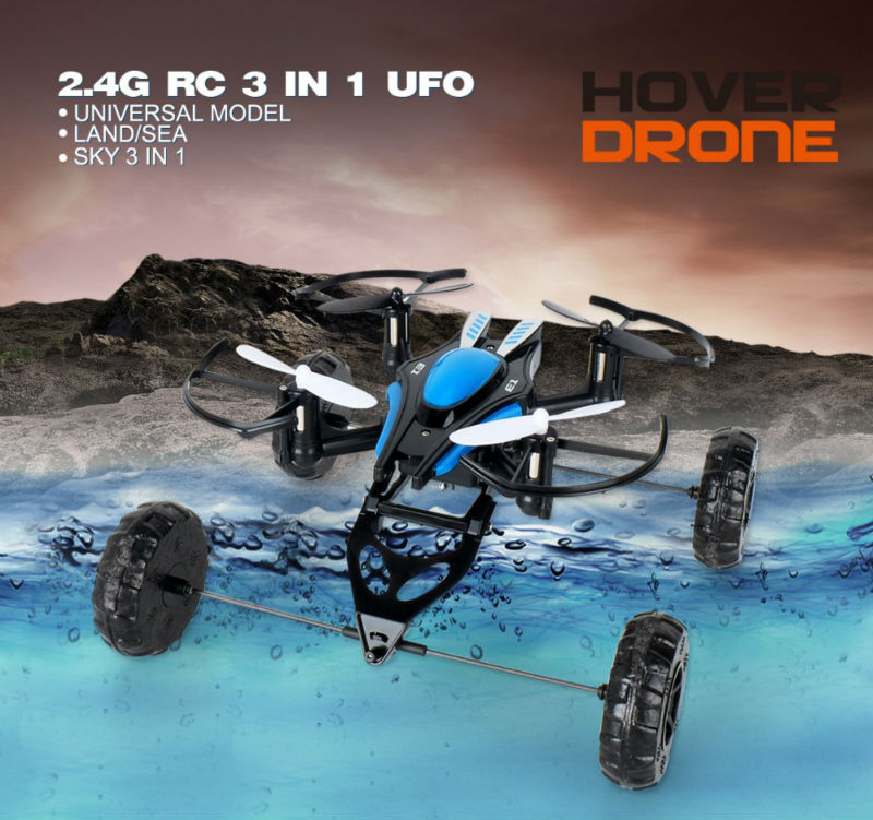 2016 New arrival JD503 Air-Land Dual Mode RC Flying Car Drone Quadcopter Mini 3 in 1 UFO VS Syma X9 318B RC Helicopter Toys mini drone rc helicopter quadrocopter headless model drons remote control toys for kids dron copter vs jjrc h36 rc drone hobbies