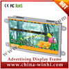 Indoor Shelf 7 Inch Edge Open Frame Lcd Monitor Usb Video Auto Play12v Media Player For