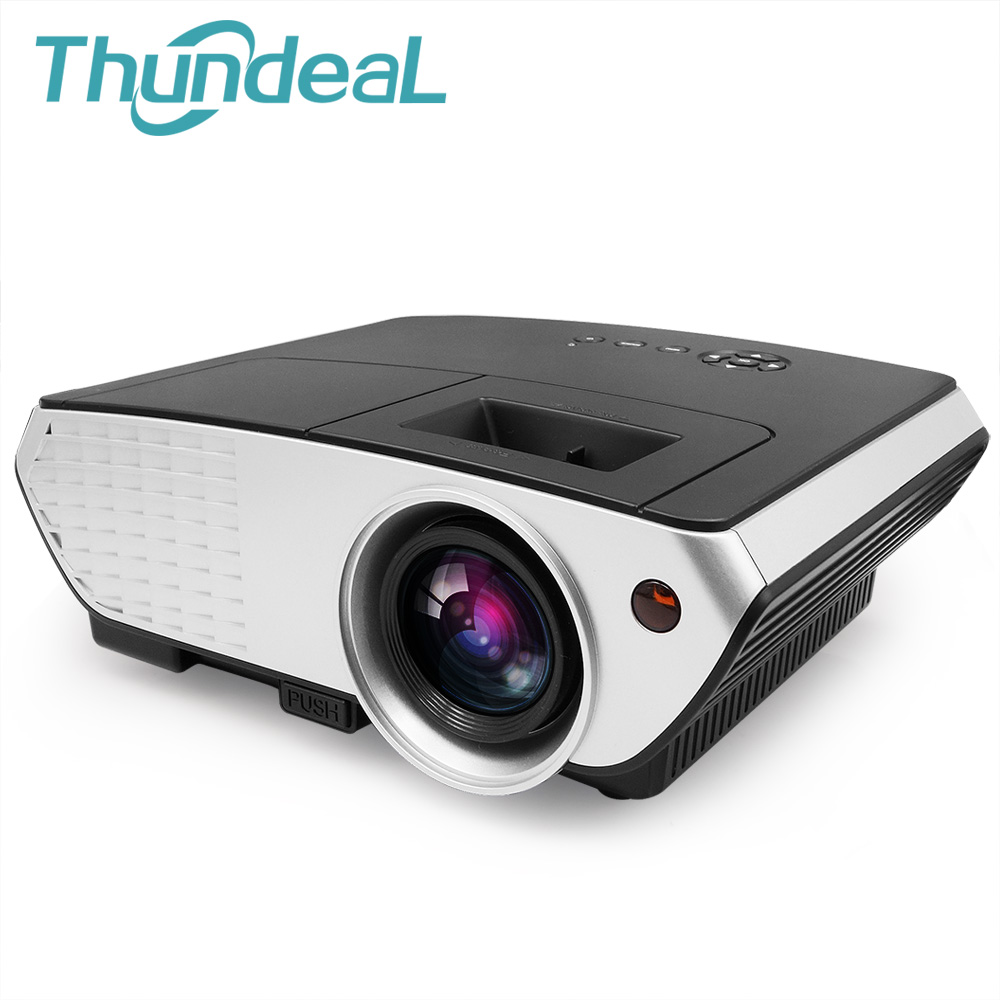 Thundeal rd803 small meeting projector home theater for Hd projector small