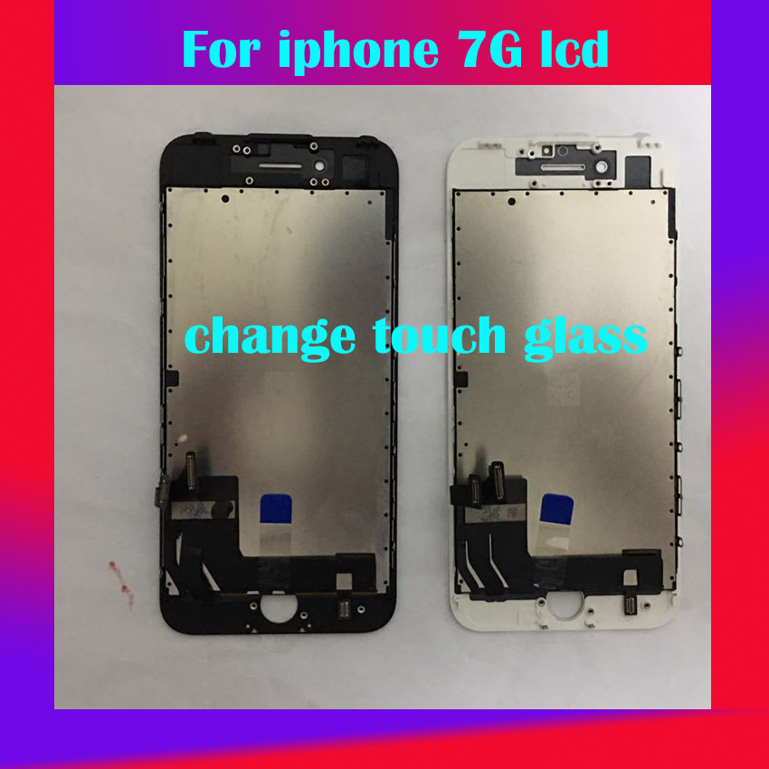 Display Touch-Glass-Change iPhone Original Black for 7G Lcds But 100%Working And White