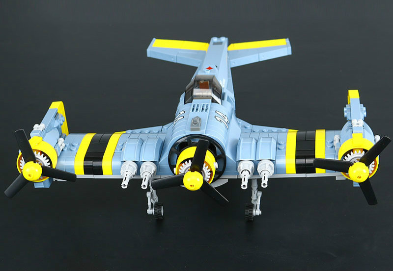 Technical Series The Beautiful Science Fiction Fighting Aircraft Set Building Blocks Bricks Educational Figures Lepins Toys Gift купить