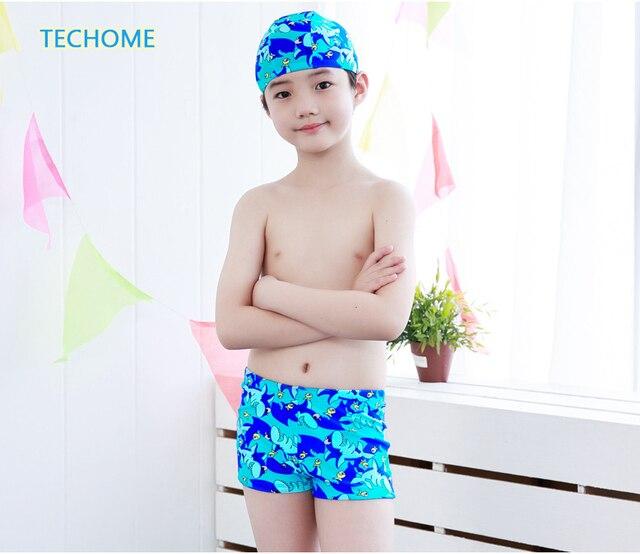 b448d684f 2017 جديد الفتيان الصيف السباحة جذوع ملابس سباحة للأطفال سراويل قصيرة  الاطفال المايوه شاطئ السباحة الملابس