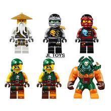 SY539 ninjagoes building block Ninja vs tiger spider Island bricks Wu Kai Cole Pirate Mini blocks compatible with legos 70604